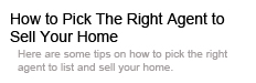 find right agent home