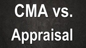 CMA vs APPRAISAL